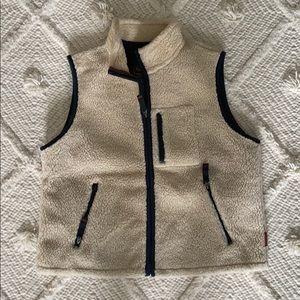 Abercrombie & Fitch Sherpa vest- size Large